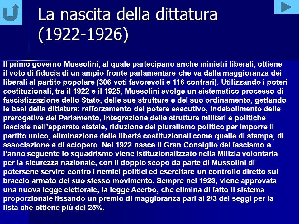 Quando Mussolini andò al potere, buona parte della classe politica liberale era convinta che sarebbe durato poco.