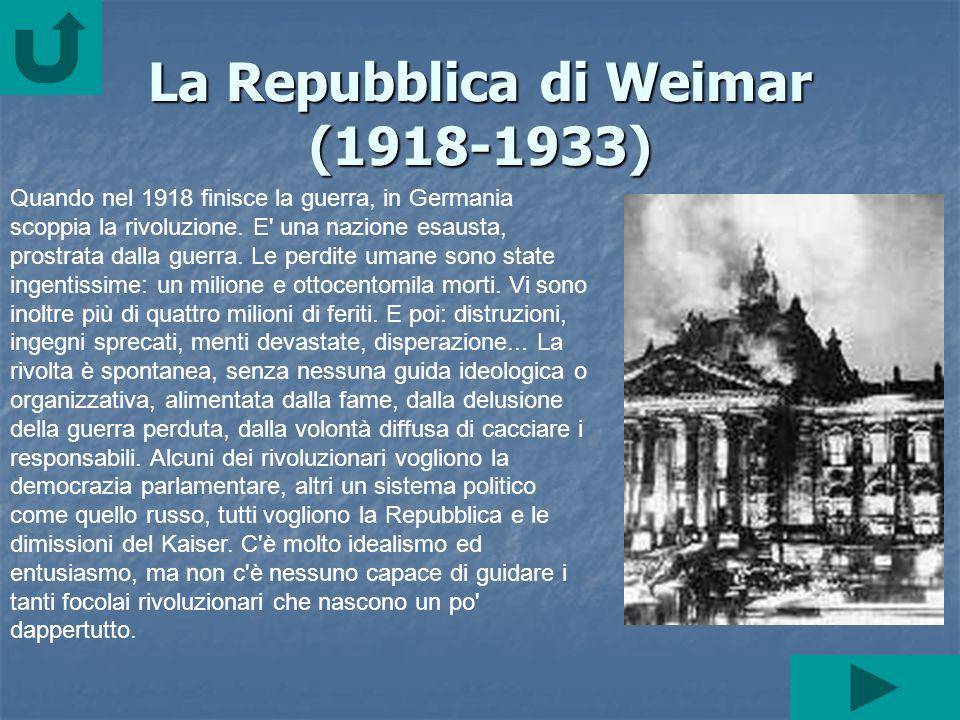 Nonostante i consensi ottenuti e lappoggio, finanziario, dei grandi industriali, il partito nazional-socialista venne sconfitto, alle elezioni preside