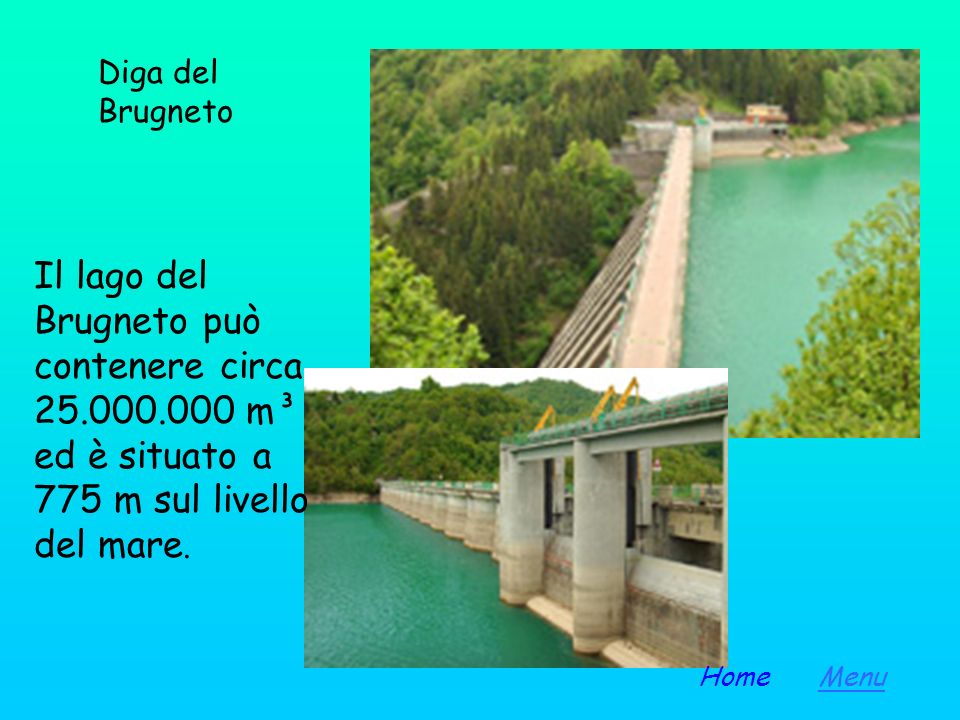 La società Genova Acque ha una notevole articolazione degli approvvigionamenti idrici; come invasi è proprietaria degli impianti del bacino artificial