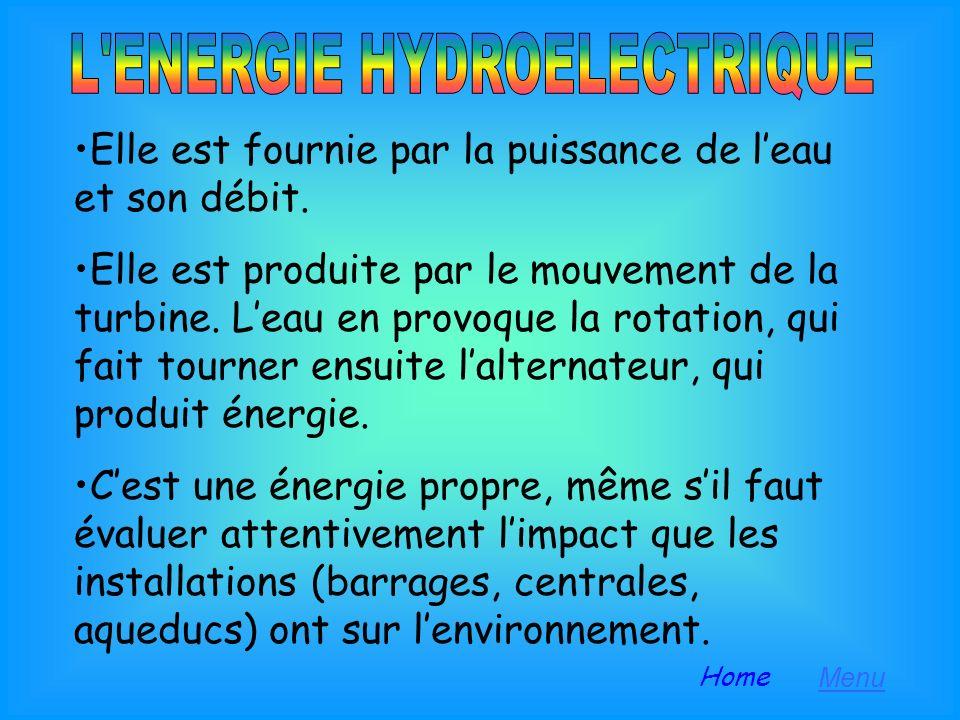 L eau: d élément naturel à source d énergie Leau, à cause de laugmentation de la population et de la croissance des exigences acquiert une importance