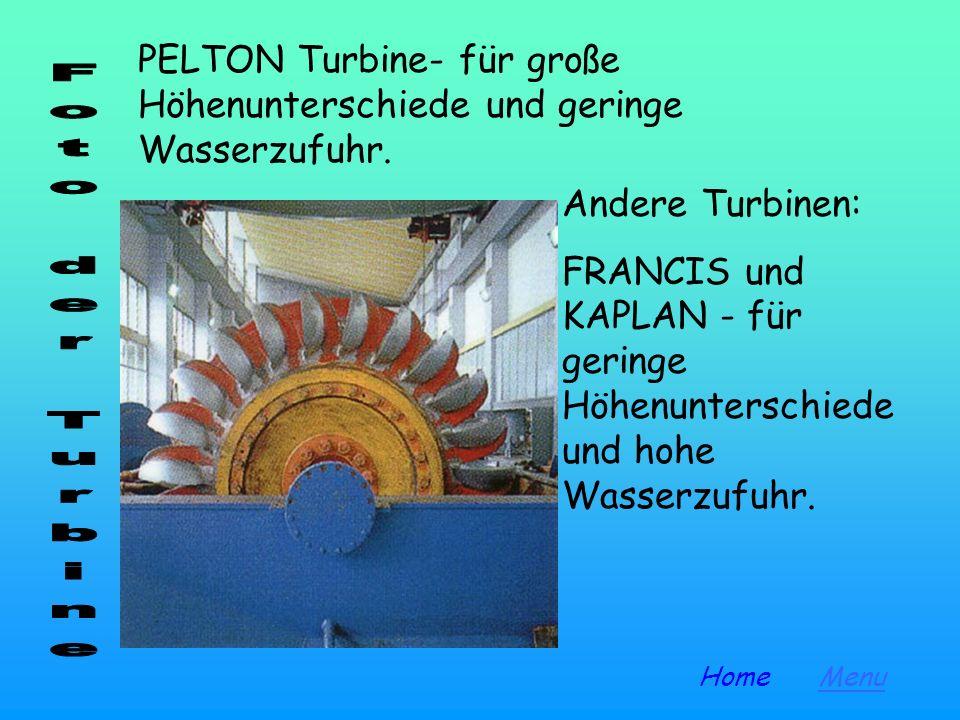 Die hydroelektrische Energie ist eine saubere Energie, aber wir müssen den Aufprall der Installationen (Dämme, Stromaggregate, Wasserwerke) auf die um