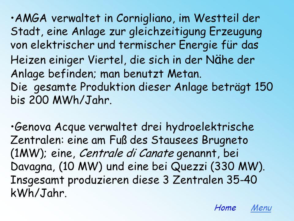 -Elektrische Energie-Anlagen Eine Energieanlage liegt in der Nähe eines (auch künstlichen) Beckens, wo viele Flüsse zusammenfließen und das Wasser ges