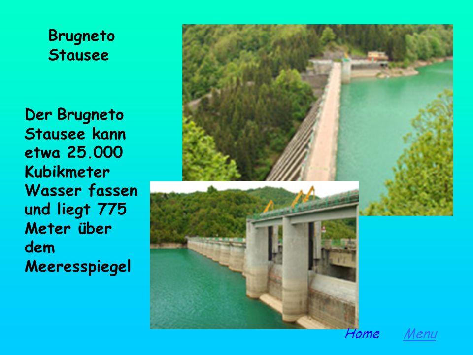 GENOVA ACQUE hat ein gutes Netz der Wasserzufuhr. Sie besitzt den Stausee von Brugneto und Val Noci; fließendes Wasser kommt aus den Flüssen Laccio, B
