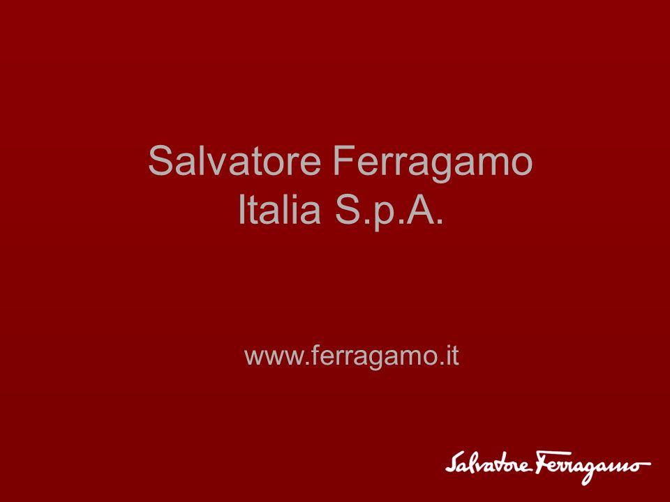 Salvatore Ferragamo Italia S.p.A. www.ferragamo.it