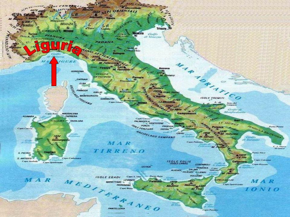 Quale Appennino è raffigurato qui? Si tratta dellAppennino Ligure! E si trova nella sezione…. Settentrionale! In Liguria.