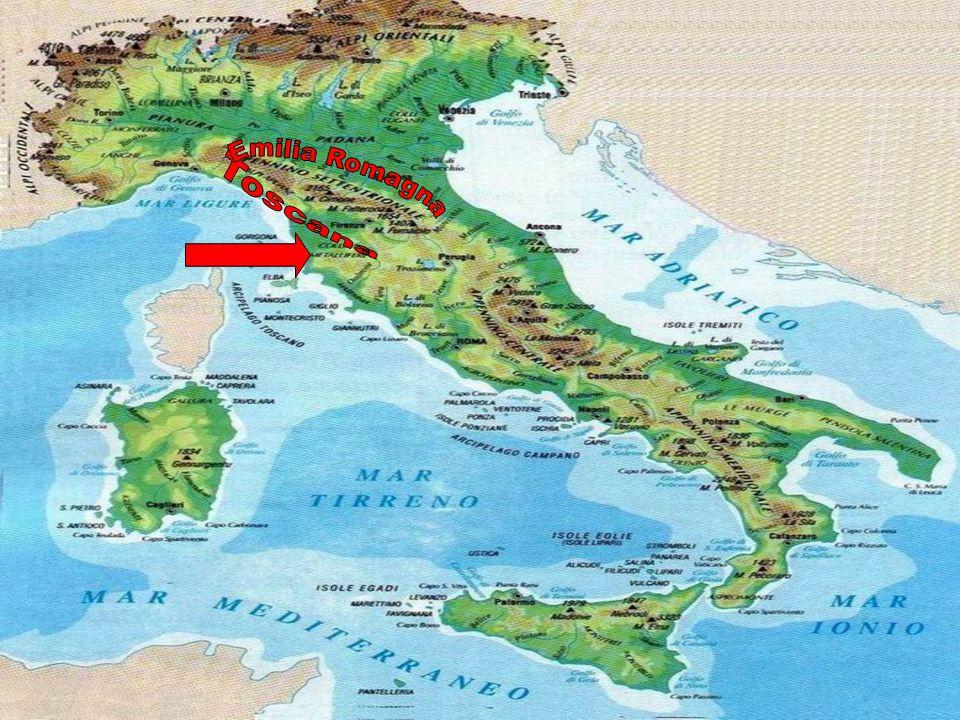 Si chiama così perché si trova tra due regioni: la Toscana e lEmilia Romagna e allora alcuni lo chiamano Appennino Tosco-Emiliano, altri dicono Appenn
