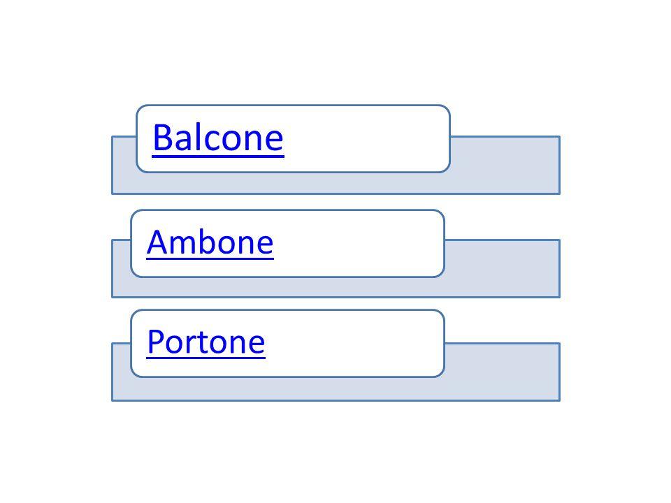 Balcone AmbonePortone