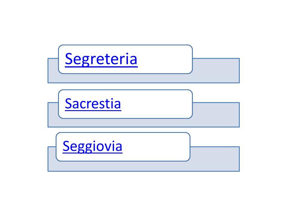 Segreteria SacrestiaSeggiovia