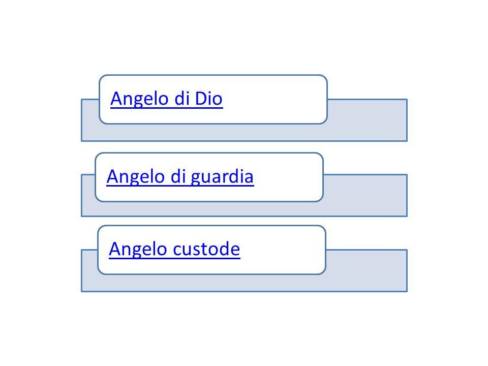 Angelo di DioAngelo di guardiaAngelo custode