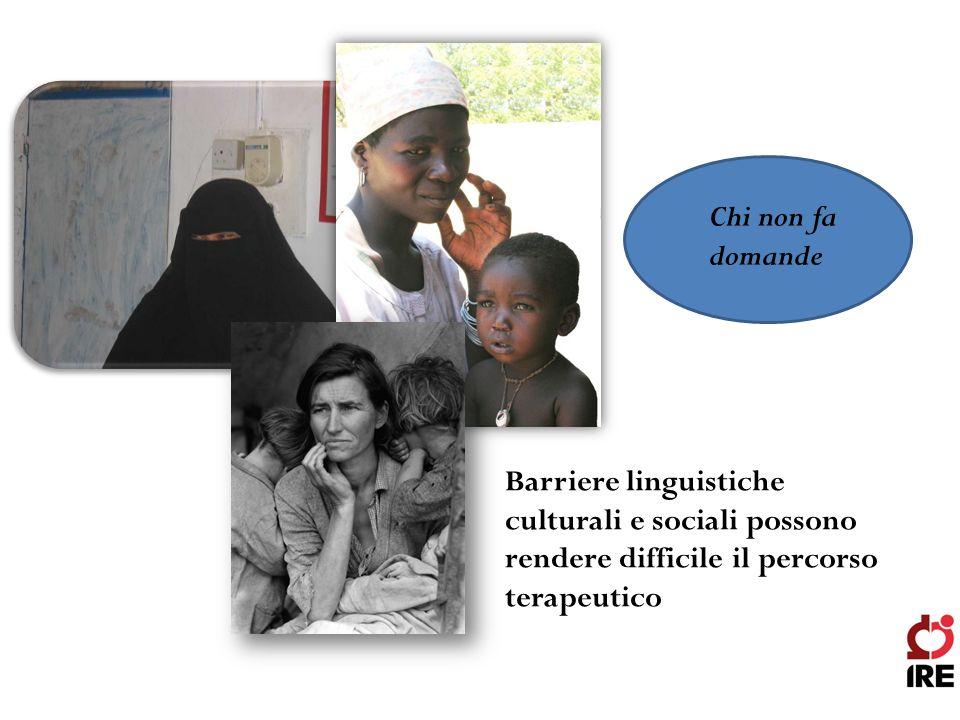 Chi non fa domande Barriere linguistiche culturali e sociali possono rendere difficile il percorso terapeutico