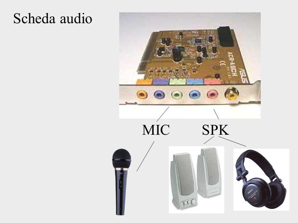 Scheda audio MICSPK