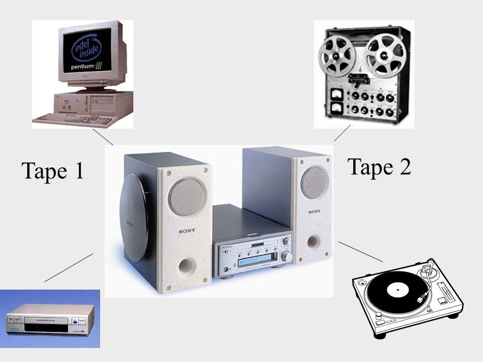 Tape 1 Tape 2