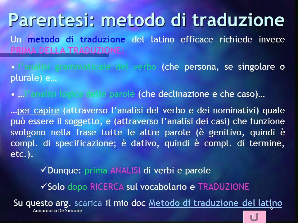 Annamaria De Simone 16 Lordine delle parole: altre regole pratiche /1 IL DATIVO DI TERMINE SOLITAMENTE PRECEDE IL GRUPPO FORMATO DA COMPL.