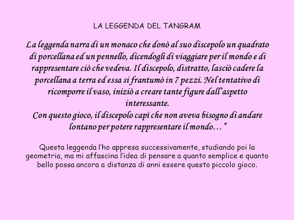 Anche i miei alunni a scuola amano molto il Tangram.