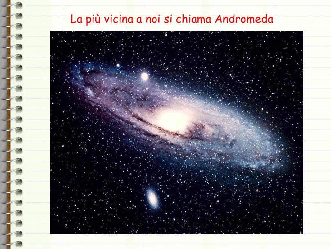 La più vicina a noi si chiama Andromeda