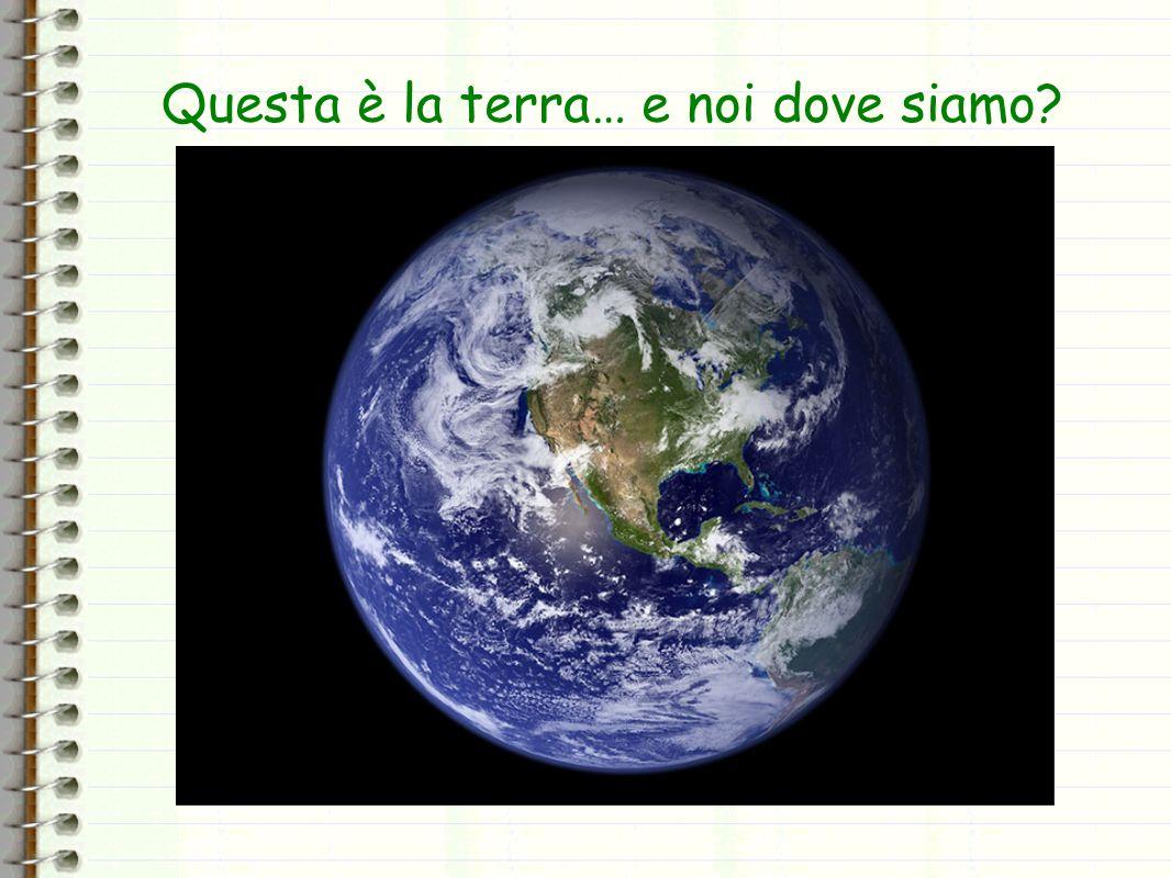 Ohps!!!!! Non si vede!! Siamo dallaltra parte!!…La Terra è una palla lo sapevi no?