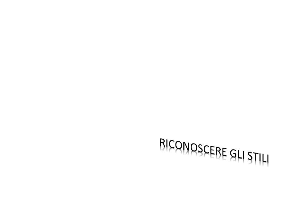 Stile: Neoclassicismo Periodo: dal 1789 (circa) al 1814 con una breve ripresa negli anni 40 dell800 Dove: prevalentemente in Francia Eventi storici da ricordare: -Scoperta di Pompei ed Ercolano (anni 50 del 700) -Rivoluzione francese (1789) -Ascesa e declino di Napoleone (1786 – 1821) -Congresso di Vienna (1814) Ricerca estetica: -Imitazione dellantico -Valori etici della storia romana(exempla virtutis) -Bellezza estetica della storia greca -Allontanamento dalla katastrofè Tecniche: -Outline-Drawing (disegno e pittura) -quinta architettonica di sfondo - idea di un bassorilievo dipinto -luce diffusa -Tecnica canoviana (scultura): disegno, bozzetto in creta, modello in gesso e repère, traduzione in marmo.