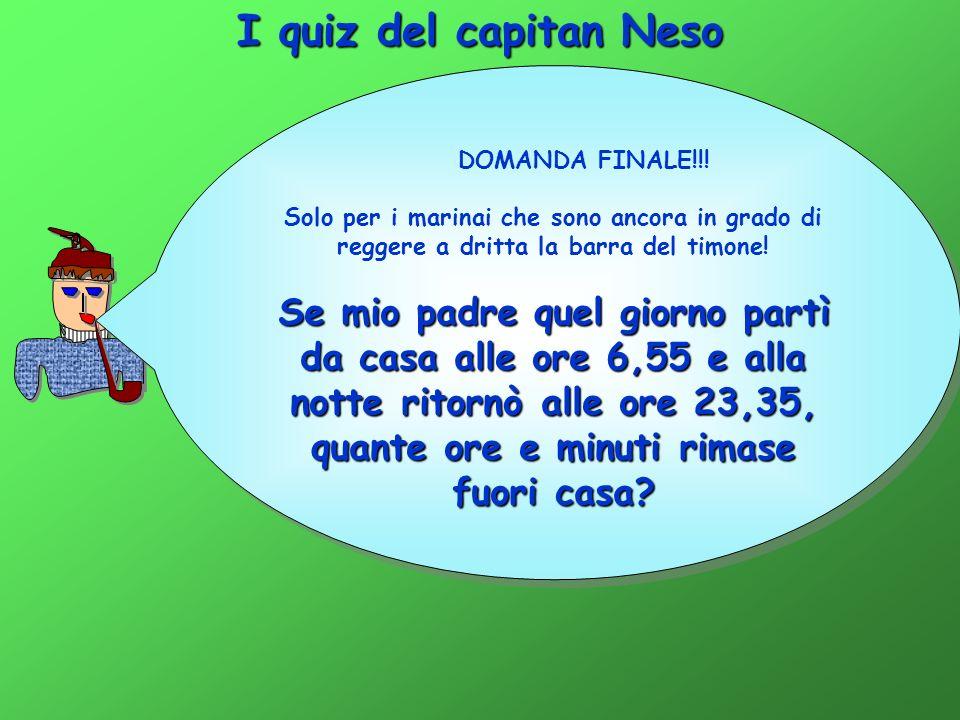 I quiz del capitan Neso DOMANDA FINALE!!.