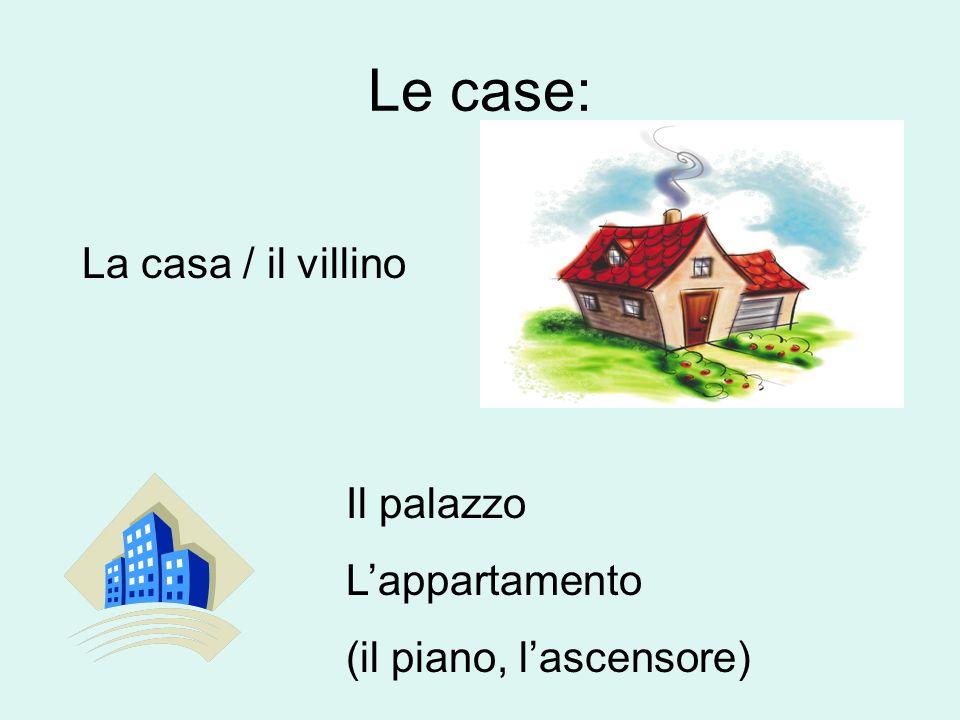 More verbs Nel bagno: Farsi la doccia (Mi faccio la doccia) (ti fai la doccia?) (si fa la doccia) Farsi il bagno Lavarsi (mi lavo, ti lavi?, si lava) Lavarsi I denti/la cara Nello scantinato: Fare il bucato To take a shower To take a bath To wash up To brush ones teeth/to wash ones face In the basement: To do the laundry/wash clothes