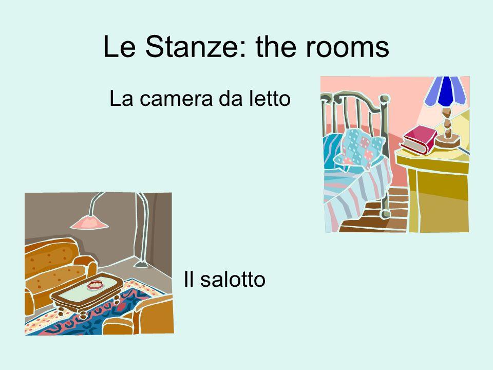 Le stanze: the rooms Il Bagno Laltra camera da letto the other bedroom