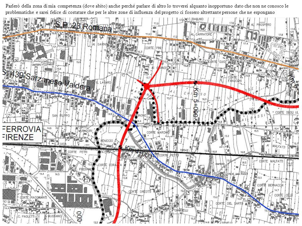 Come già accennato la mia zone è stata interessata da vari progetti per la costruzione di una strada ( in particolare in precedenza andava ad interessare solo il confine nord) ma anche stavolta, come al solito, oltre ad interferire gravemente con una delle poche zone verdi rimaste intorno a Lucca (cosa di cui il W.W.F.