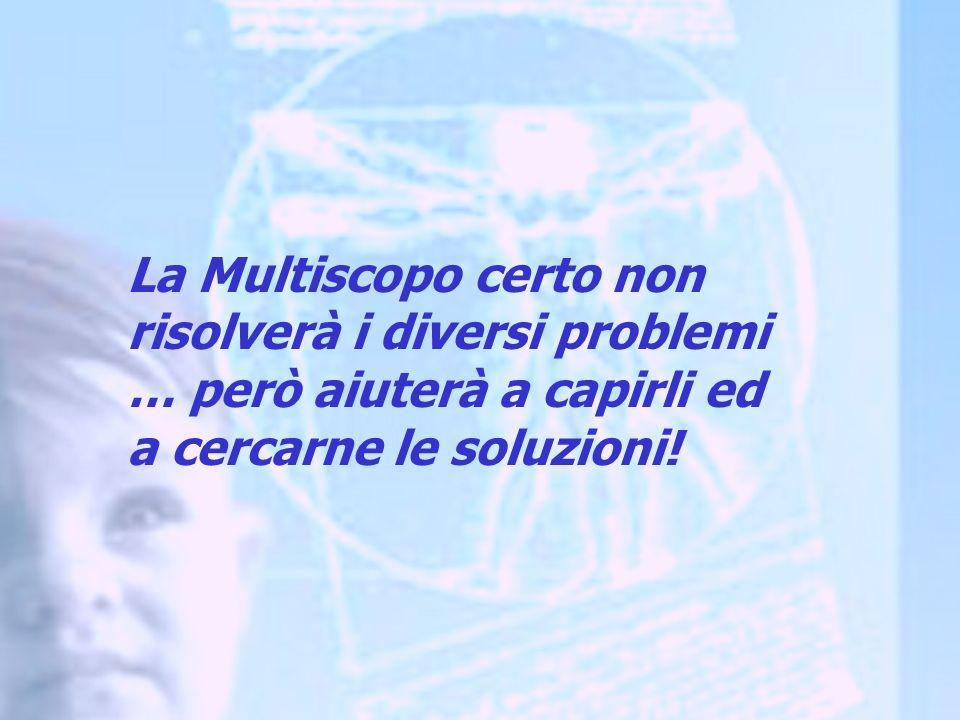 La Multiscopo certo non risolverà i diversi problemi … però aiuterà a capirli ed a cercarne le soluzioni!