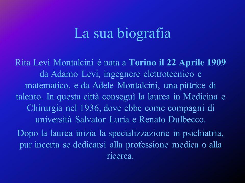 Nel mese di luglio del 2001 è stata insignita della carica di senatrice a vita della Repubblica italiana alletà di 92 anni.