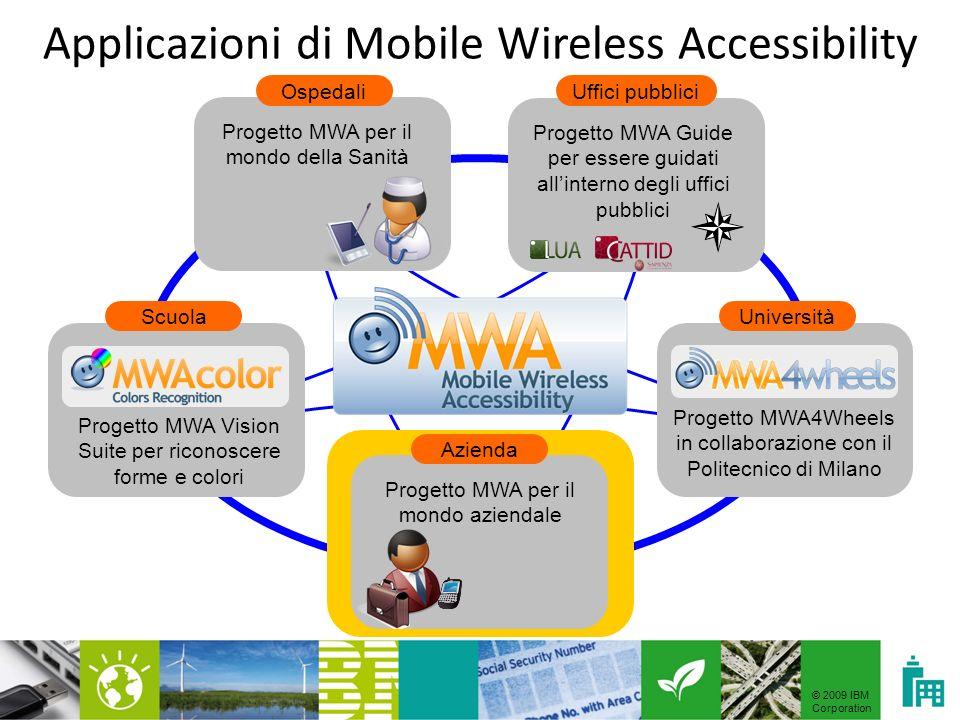 © 2009 IBM Corporation MWA Vision Suite: che cosè.