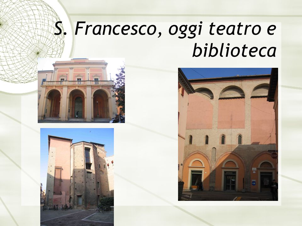 S. Francesco, oggi teatro e biblioteca