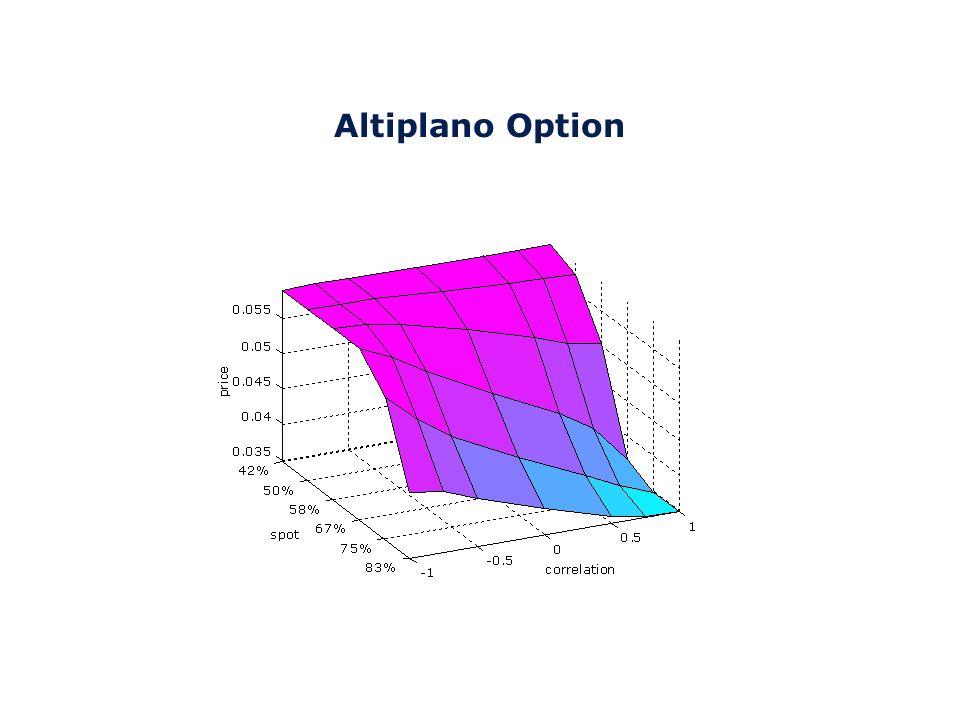 Everest Option dove: p = coefficiente di partecipazione espresso in punti percentuali S i j = prezzo dell j-mo asset al tempo i S 0 j = prezzo dell j-mo asset al tempo iniziale (strike j) Definiamo una serie di istanti t 0,..,t M dove t 0 è la data di partenza dellopzione e t M la data di scadenza, ed una serie di N sottostanti S 1,..,S N.