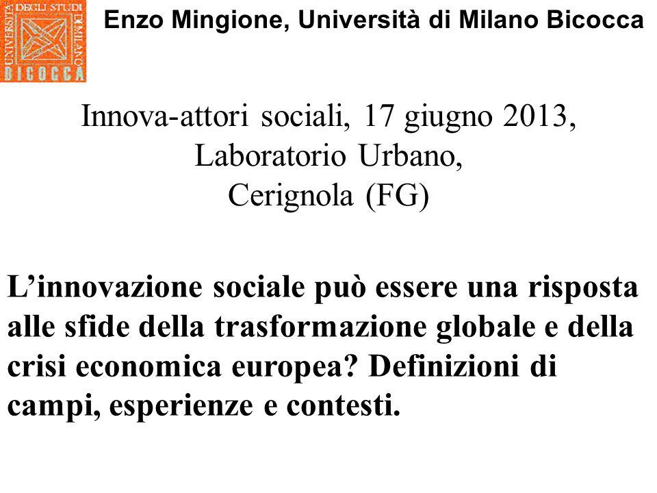 Robin Murray, Julie Caulier Grice, Geoff Mulgan, 2011, Il libro bianco sullinnovazione sociale, edizione italiana a cura di Alex Giordano e Adam Arvidsson.