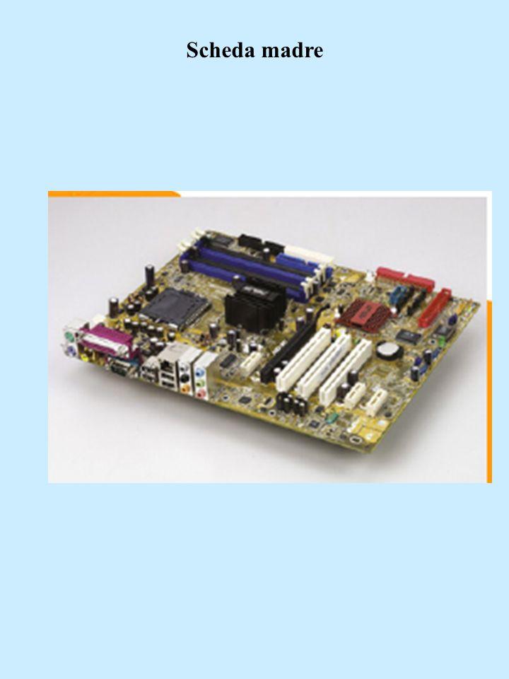 Il processore Il processore è detto CPU (Central Processing Unit, unità centrale di elaborazione) I registri servono per memorizzare i dati sui quali il processore sta operando, come ad esempio i risultati intermedi dei calcoli.