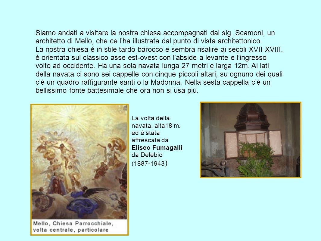 Innocenzo Carloni Nato a Scaria in Val dIntelvi nel 1686 da una famiglia già dedita allarte, ed in particolare a quella dello stucco, farà il suo apprendistato prima del suo conterraneo Giulio Quaglio con il quale collaborerà nella decorazione della cattedrale di Lubiana (documentata tra il 1703 e il 1706) poi, raggiunta Roma perfezionandosi dal pittore veneto Francesco Trevisani.