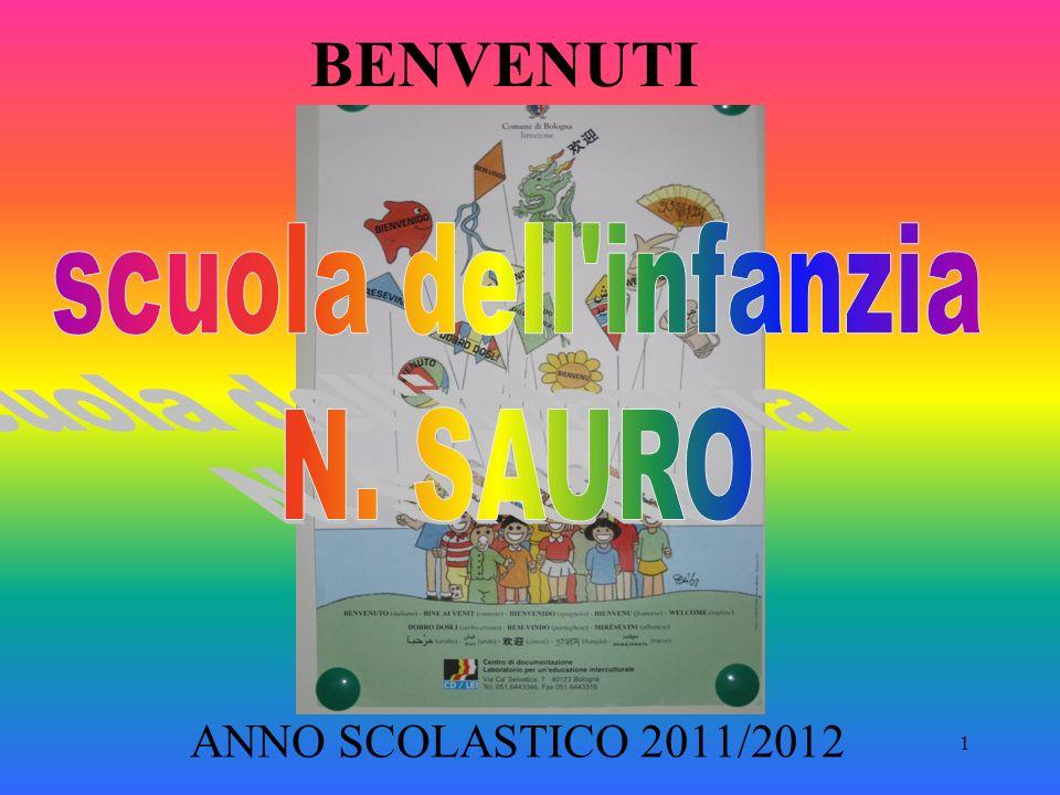 1 BENVENUTI ANNO SCOLASTICO 2011/2012