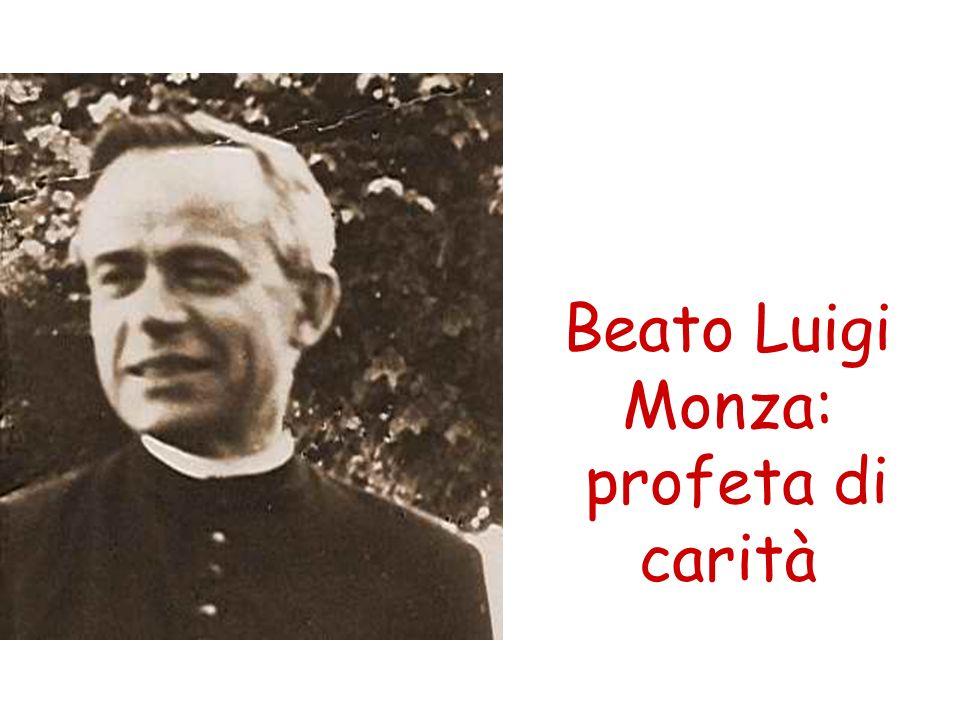 Nato a Cislago (Va) nel 1898 da una famiglia di contadini, Luigi Monza venne ordinato sacerdote nel 1925 nella Diocesi di Milano.