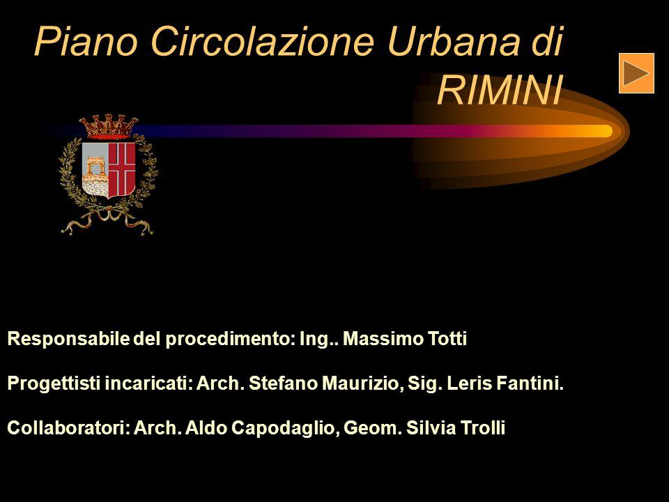 Piano Circolazione Urbana di RIMINI Responsabile del procedimento: Ing..