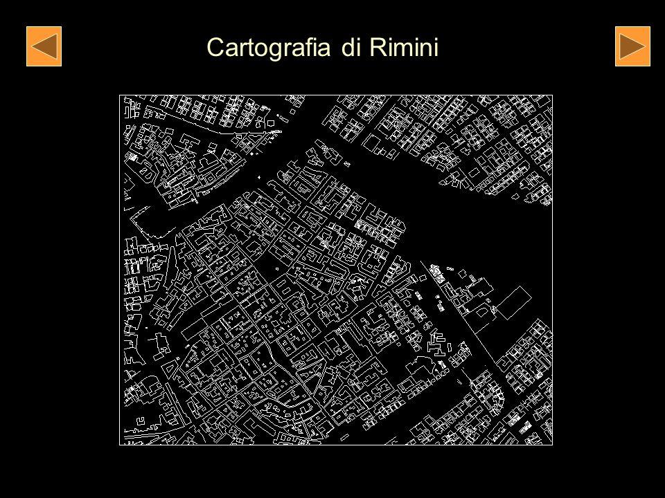 Scheda tecnica di un edificio rilevato nel centro storico di Rimini