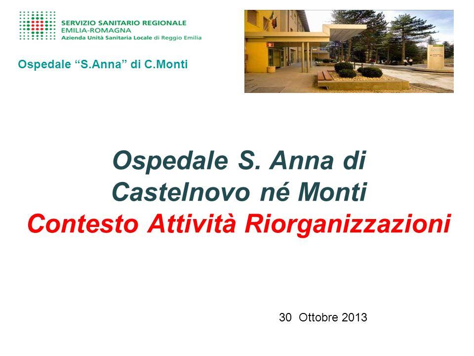 Ospedale S.Anna di C.Monti Ospedale S.