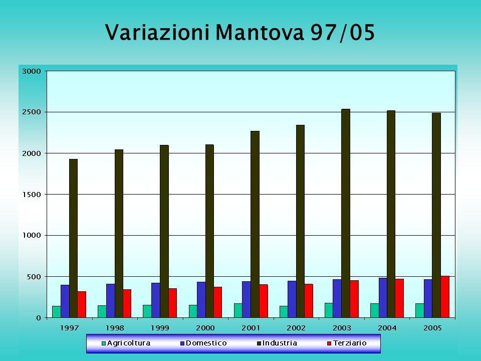 Variazioni Mantova 97/05