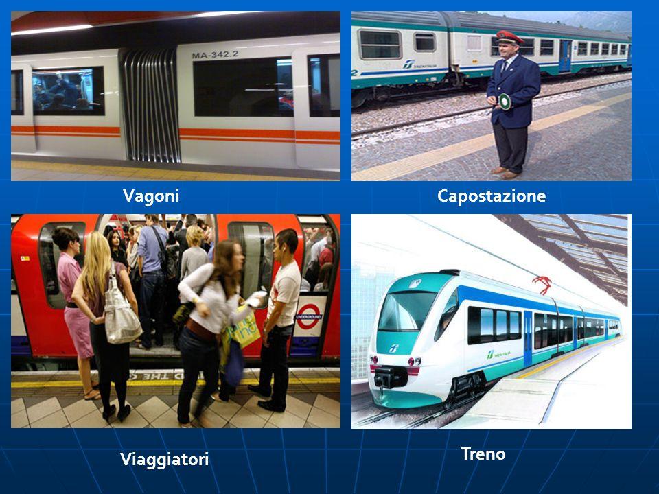 VagoniCapostazione Viaggiatori Treno