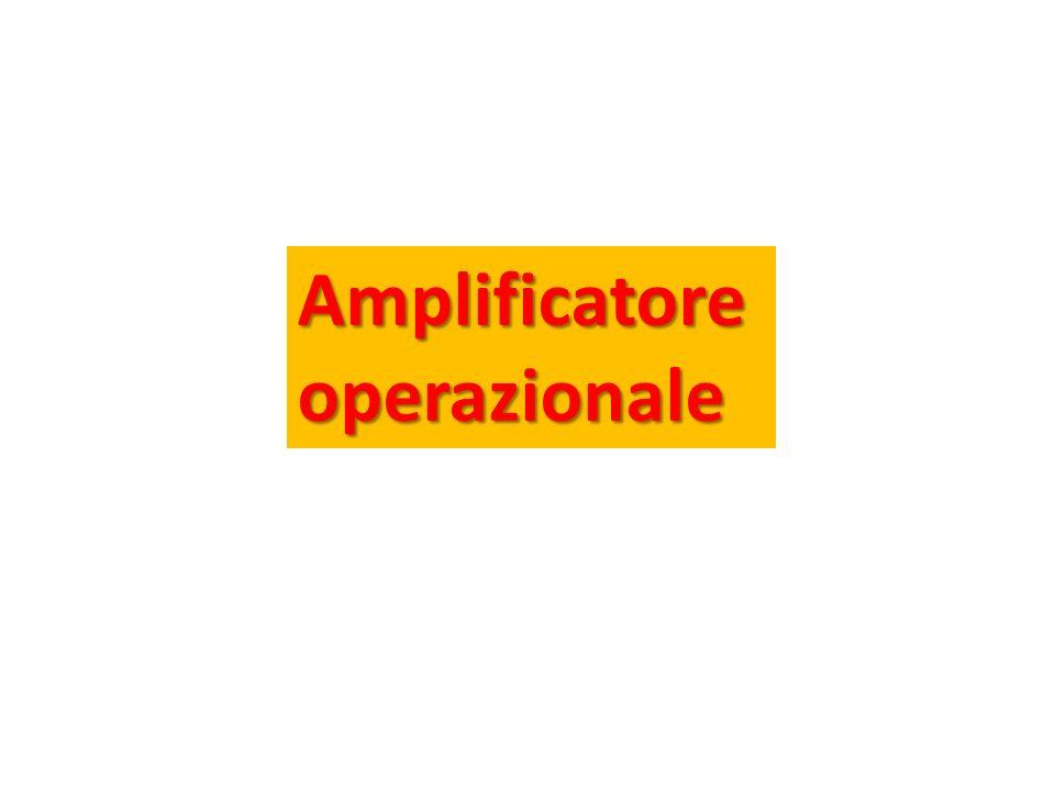 Amplificatoreoperazionale