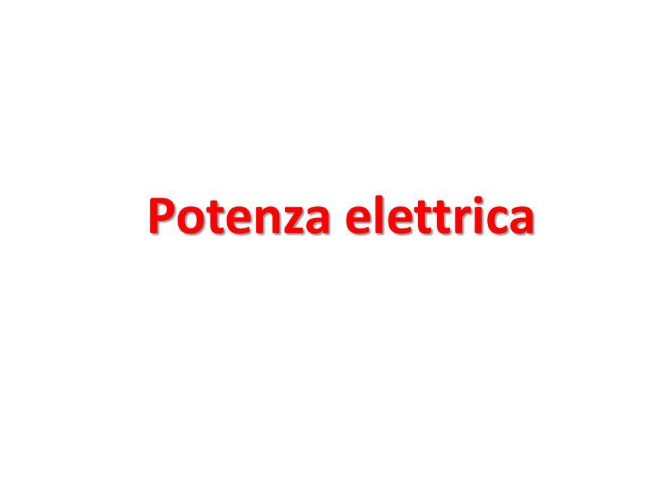 Potenza elettrica
