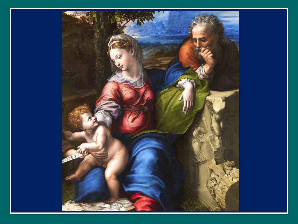 In effetti, ogni presepio ci mostra Gesù insieme con la Madonna e san Giuseppe, nella grotta di Betlemme.
