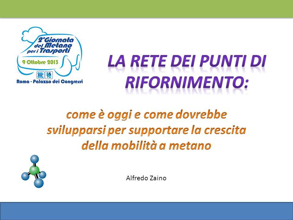 Obiettivi dello studio Definire un possibile scenario di sviluppo della rete delle stazioni di rifornimento di metano per i trasporti in Italia