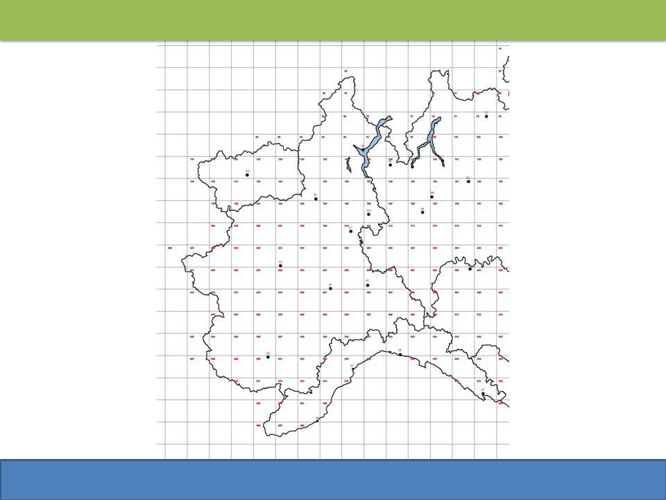 Le fasi dello studio Localizzazione dei centri abitati dei comuni compresi in ogni singola area omogenea e somma delle relative popolazioni