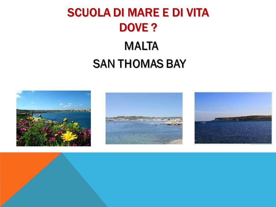 GIORNATA TIPO DELLA SCUOLA 1225 - 1315 Preparazione delle barche per luscita in mare