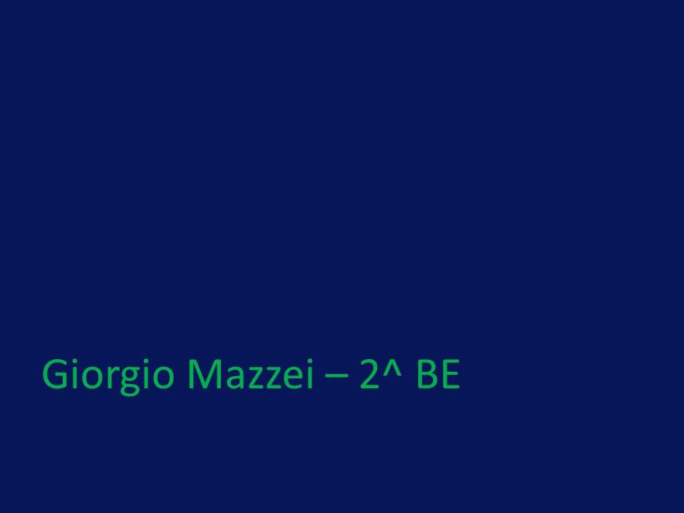 Giorgio Mazzei – 2^ BE