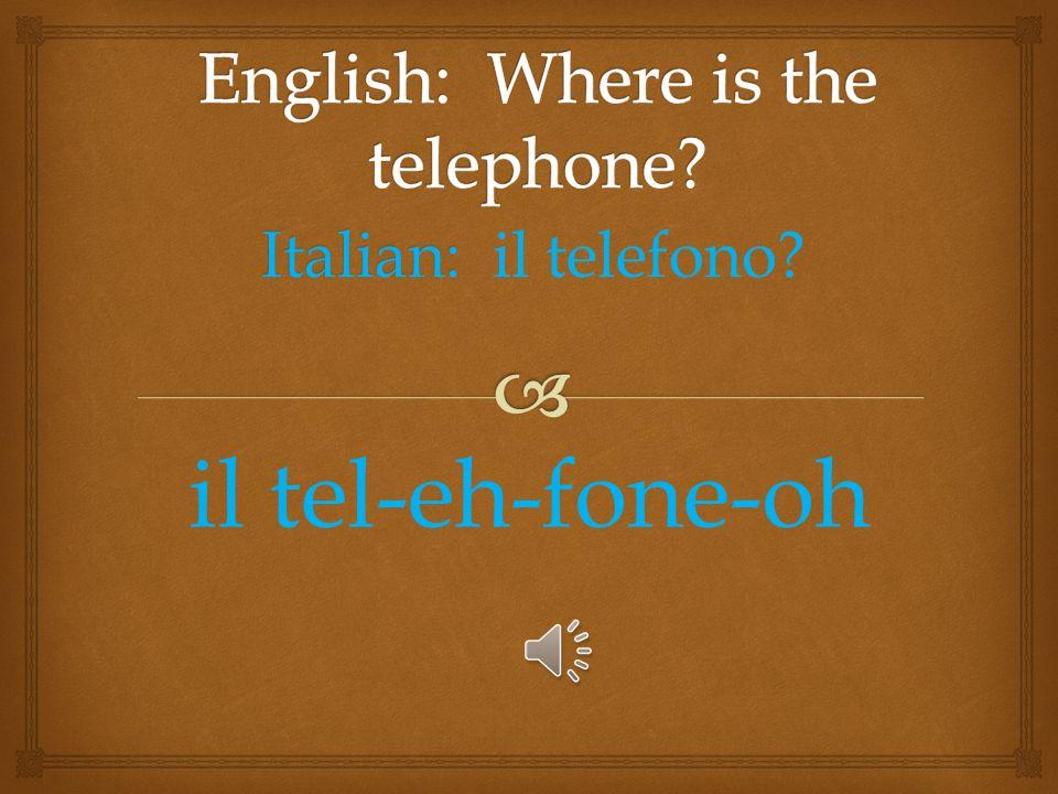 Italian: Italian: la fermata dei taxi? lah fair-ma-tuh day taxi