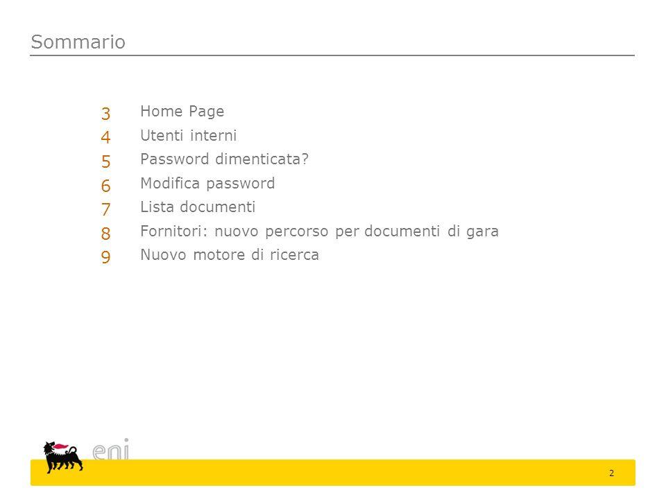 Home page 3 Ad ogni nuovo accesso il portale propone una finestra che contiene i messaggi importanti.