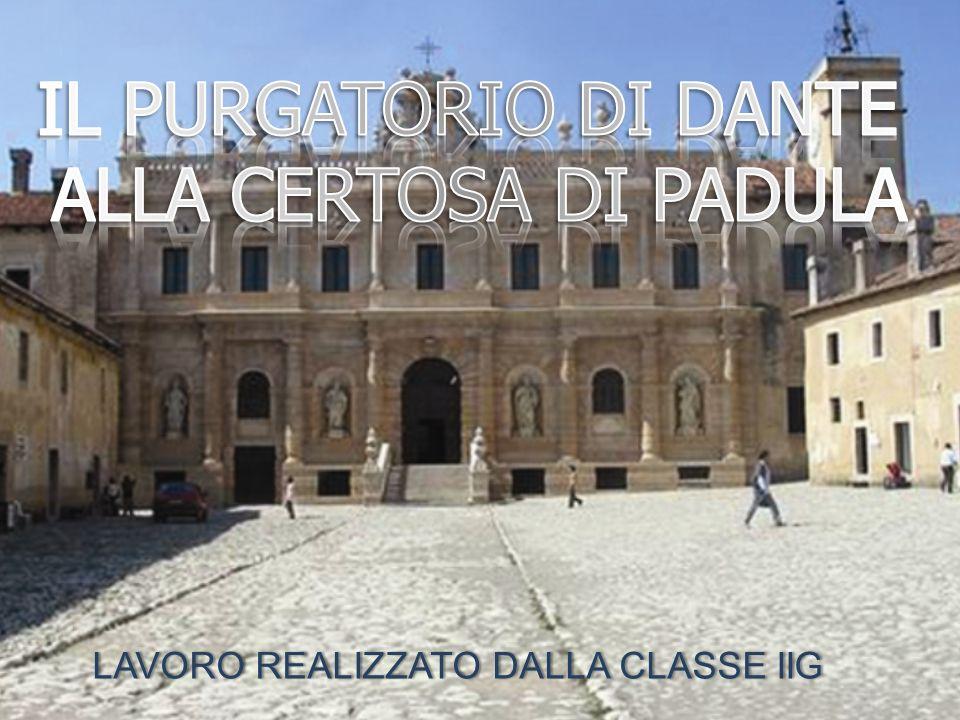Il giorno 26 marzo 2013 nella suggestiva cornice della Certosa di Padula abbiamo Assistito alla rappresentazione del Purgatorio di Dante.